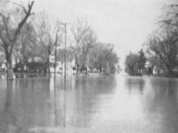 1952 Modale Iowa flood