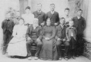 John and Margaret Fifield Wallis Family
