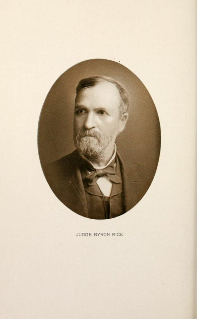 Judge Byron Rice