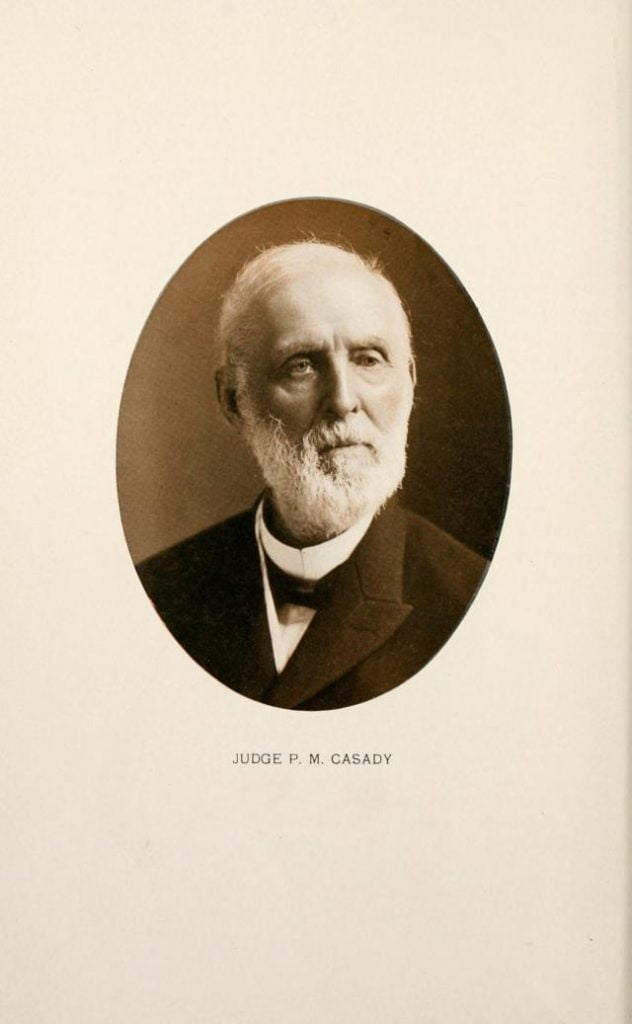 Judge P. M. Casady