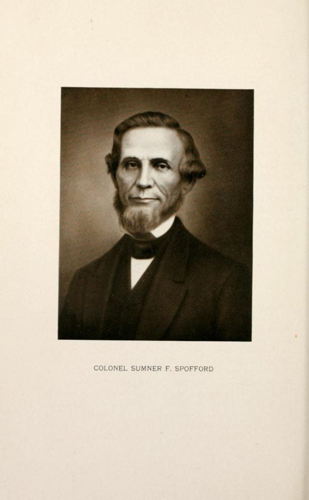 Colonel Sumner F. Spofford