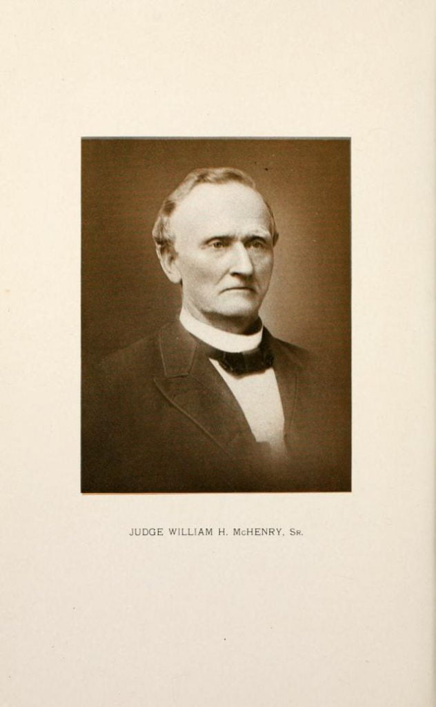 Judge William H. McHenry, Sr.