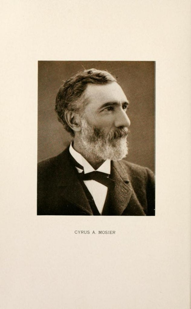 Cyrus A Mosier