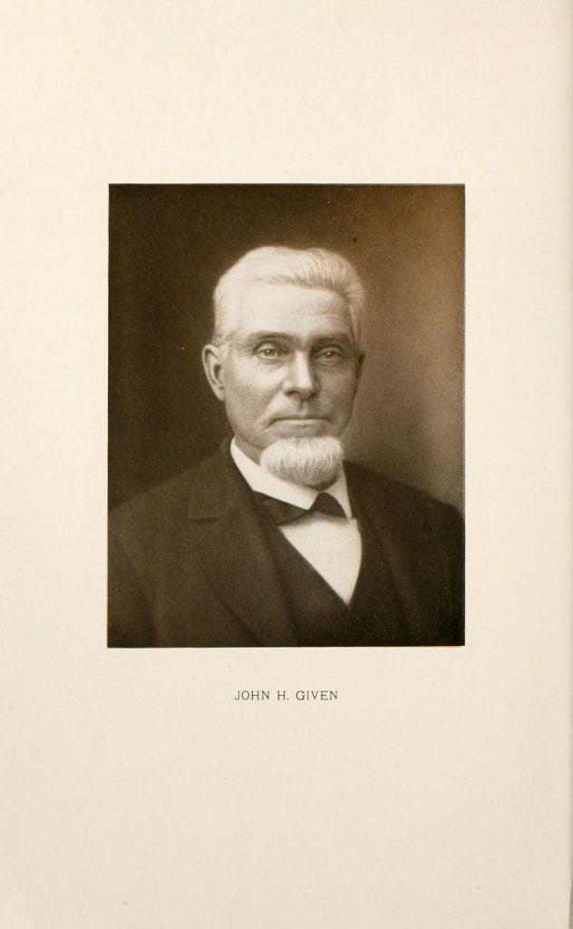 John H Given